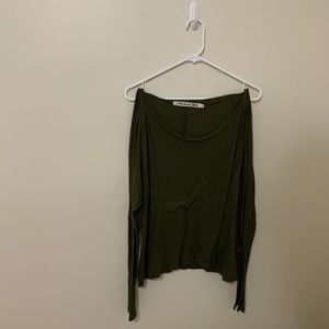 Comfy green long sleeve